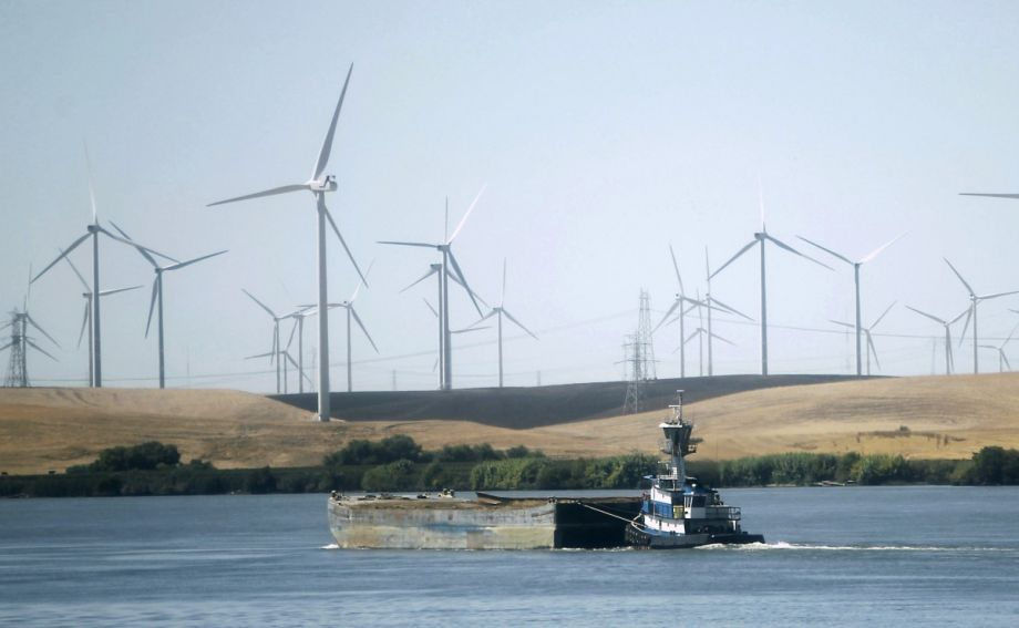 A switch to wind, water and sunlight could save California billions. (AP Photo/Rich Pedroncelli)